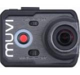 Camera video de actiune Muvi K-1, Full HD, 16 MP, Wi-Fi, Carcasa waterproof optionala, HDMI, Handsfree (Neagra)