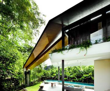 Casa inaripata din Singapore