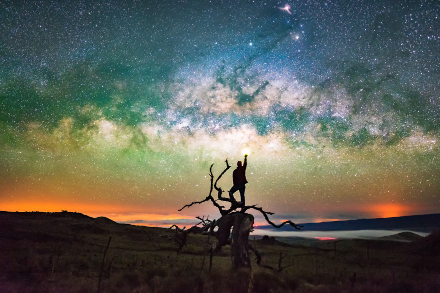 Lumina noptii: Un dans al Caii Lactee, in miezul verii - Poza 4