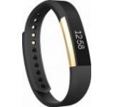 Bratara Fitness Fitbit Alta FB406GBKS-EU, Small (Negru/Auriu)