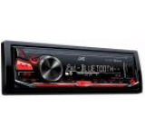 Radio MP3 player auto 1 DIN JVC KDX330BT cu Bluetooth, AUX, USB
