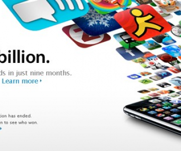 App Store a atins un miliard de download-uri