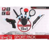 Sport Pack Move 15 in 1 (PS3)