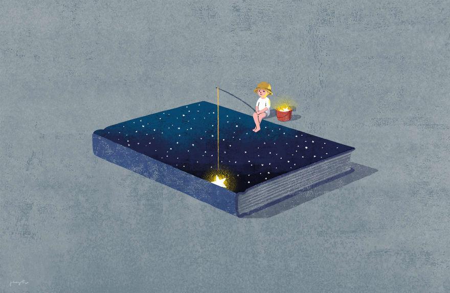 Capodopere literare, in ilustratii suprarealiste - Poza 3