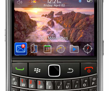 BlackBerry 9650 si BlackBerry Pearl 3G