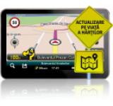 """Sistem de navigatie Smailo HD50 LMU, Ecran 5"""" TFT LCD, Procesor 800 MHz, Microsoft Windows CE 6.0, Bluetooth, Actualizari pe viata a hartilor, Harta Full Europa"""