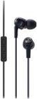 Casti Audio-Technica ATH-CK323iBK, jack 3.5mm, Microfon (Negru)