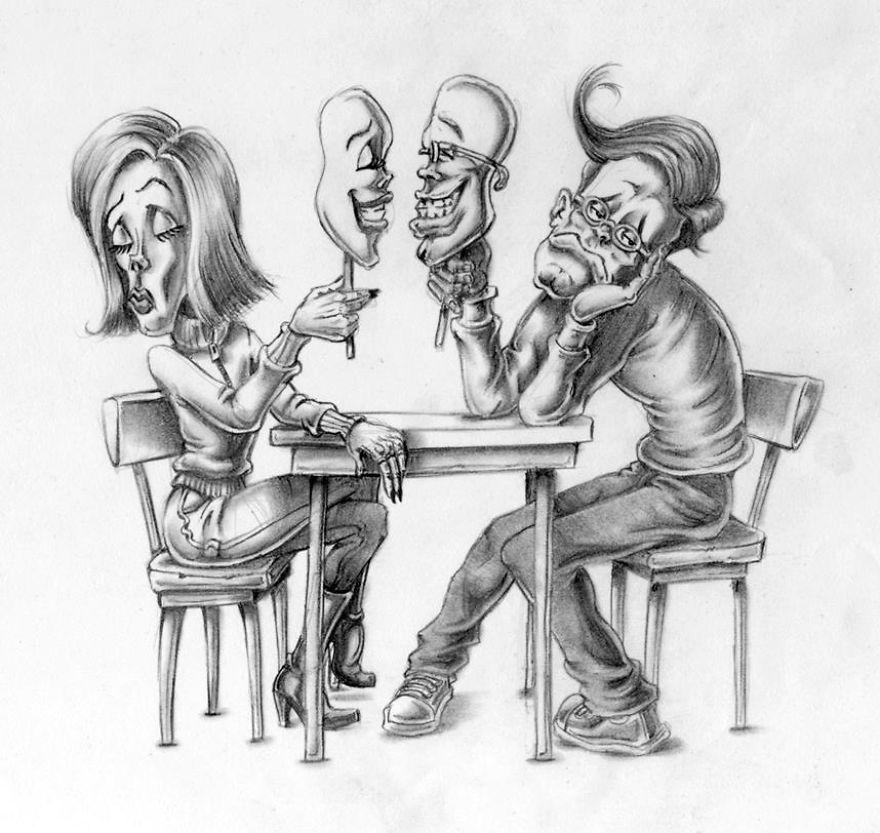 Problemele societatii actuale, in ilustratii rascolitor de sincere - Poza 14