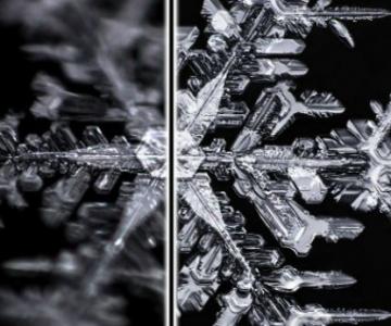 Poveste de iarna: Unicitatea fulgilor de nea, in poze deosebite