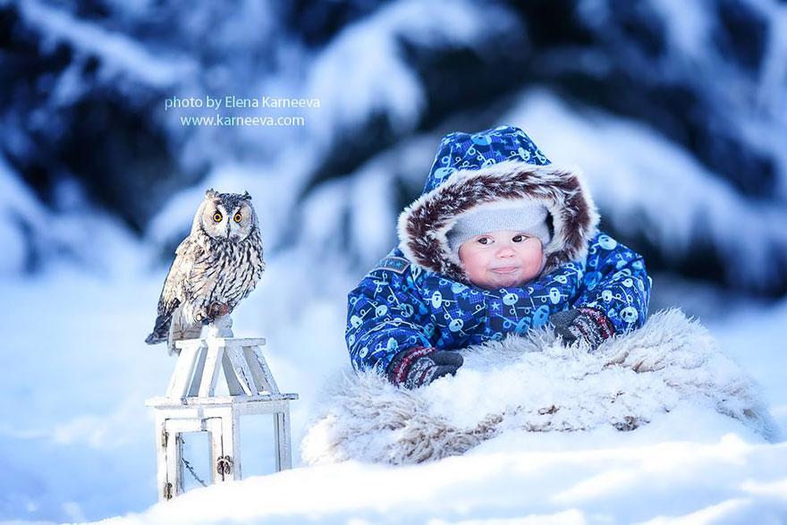Melancolia iernilor din copilarie, in poze superbe - Poza 2