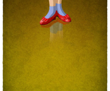 Pantofi de personaje celebre, de Nicholas Bannister