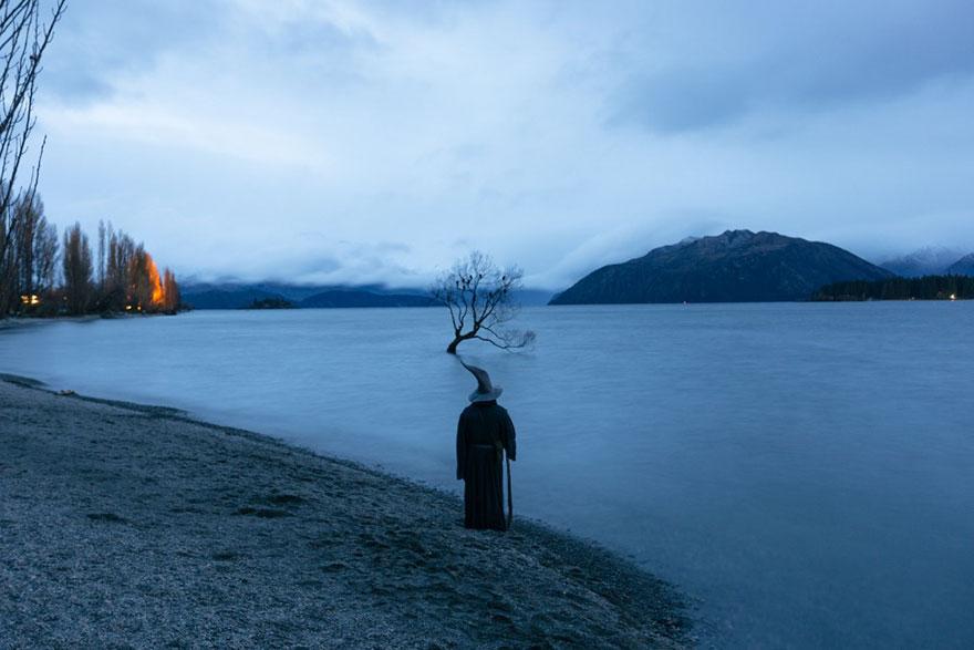 Calatoria lui Gandalf prin Noua Zeelanda, in poze epice - Poza 11