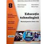 Educatie tehnologica. Manual pentru clasa a VIII-a