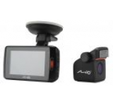 Camera Auto Mio MiVue 698 Dual, Extreme HD frontal/Full HD spate, LCD 2.7inch, IR, LDWS, Dual Cam (Negru)