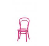 Scaun pentru copii din lemn de fag Petit Pink