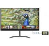 Monitor IPS LED Philips 23.6inch 246E7QDAB/00, Full HD (1902 x 1080), VGA, DVI, HDMI, 5 ms, Boxe (Negru)