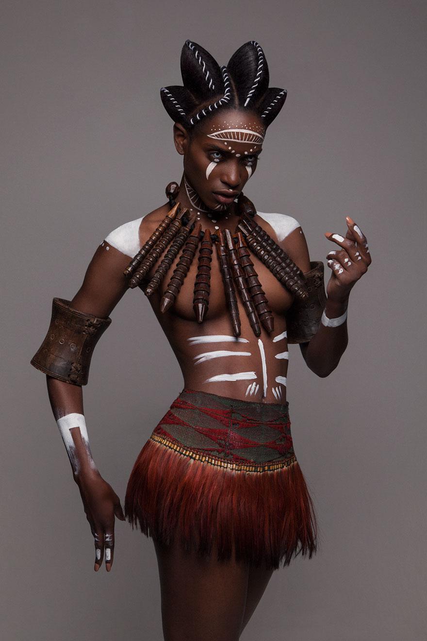 Frumusete feminina in cultura africana - Poza 3