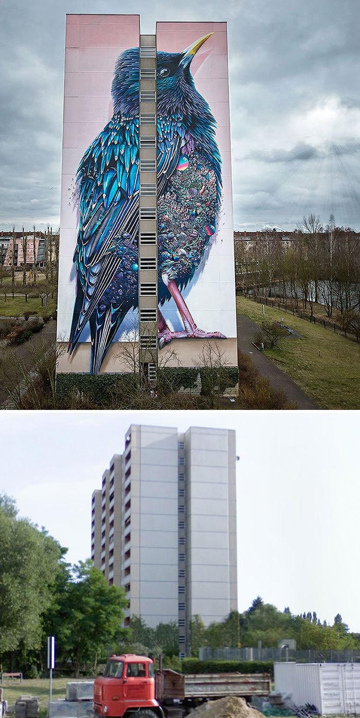 Arta stradala: Cele mai frumoase picturi pe cladiri - Poza 9