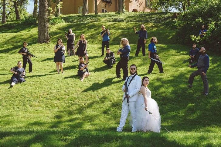 Cele mai haioase poze de nunta - Poza 7