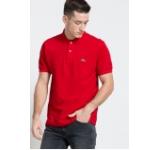 Lacoste - Tricou Polo roșu 4940-POM066 pe