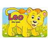 Shaped Board Books: Leo the Lion