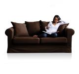 Canapea Fixa Lola Antracit 3 Locuri