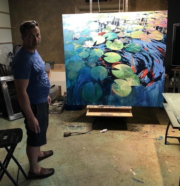 Creatii ale pictorilor amatori demne de a fi expuse in marile muzee - Poza 4