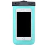 Husa Waterproof Devia DVWPBGN pentru telefoane pana la 5.5inch, cu adaptor audio 3.5mm, armband si agatatoare (Verde)