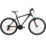Bicicleta Raleigh Talus 2 TL217BLK, Cadru 17inch, Roti 26inch (Negru/Rosu)