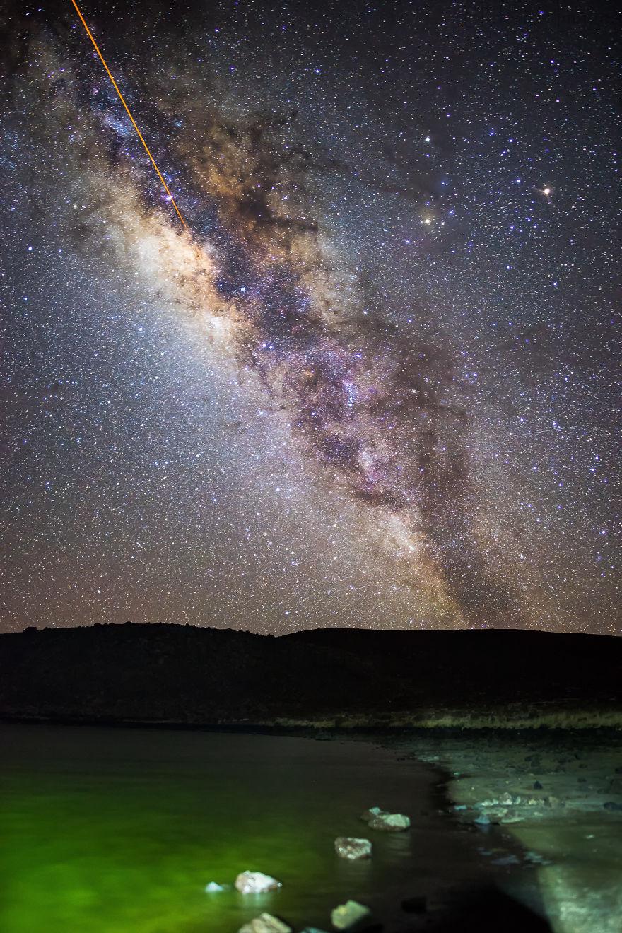 Lumina noptii: Un dans al Caii Lactee, in miezul verii - Poza 17