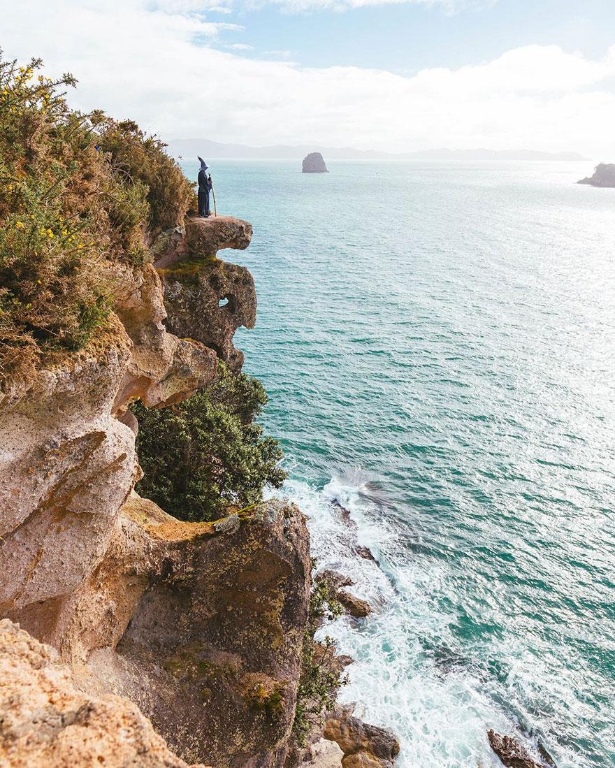 Calatoria lui Gandalf prin Noua Zeelanda, in poze epice - Poza 9