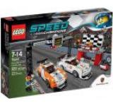 LEGO® Speed Champions Porsche 911 GT linia de sosire 75912