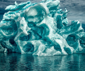 Superbii ghetarii verzi din Groenlanda