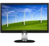 Monitor IPS LED Philips 27inch 272B4QPJCB/00, DVI-D, MHL-HDMI, DisplayPort, 4ms GTG, Boxe (Negru)
