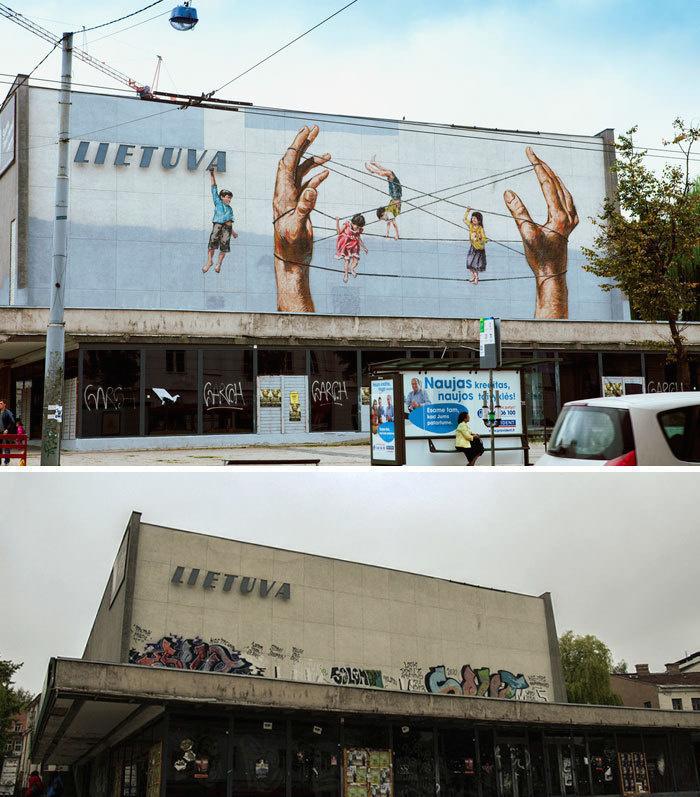 Arta stradala: Cele mai frumoase picturi pe cladiri - Poza 14