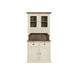 Cabinet cu 6 sertare Westerly Brown/White Antique