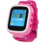 Smartwatch iUni Kid90 52118-1, 1.44inch, GPS, Bratara silicon, dedicat pentru copii (Roz)