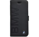Husa Flip cover BMW Signature Collection BMFLBKP6LOB pentru Apple iPhone 6/6S (Negru)