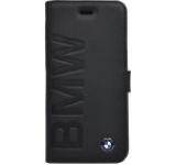 Husa Flip cover BMW Signature Collection BMFLBKP6LOB pentru Apple iPhone 6/6S (Negru)