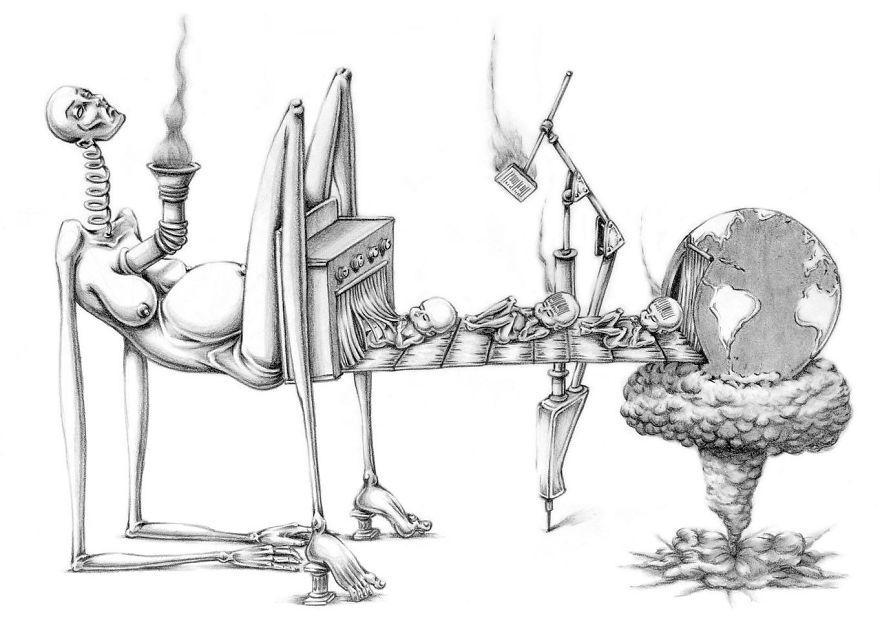Problemele societatii actuale, in ilustratii rascolitor de sincere - Poza 16