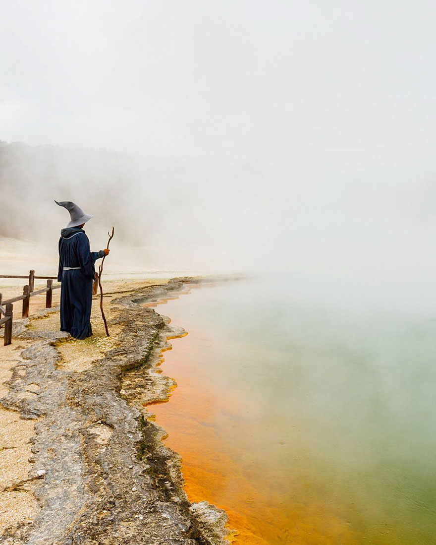 Calatoria lui Gandalf prin Noua Zeelanda, in poze epice - Poza 4