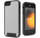 Protectie spate Cygnett Apollo CY0865CPAPO pentru iPhone 5 (Alb cu gri)
