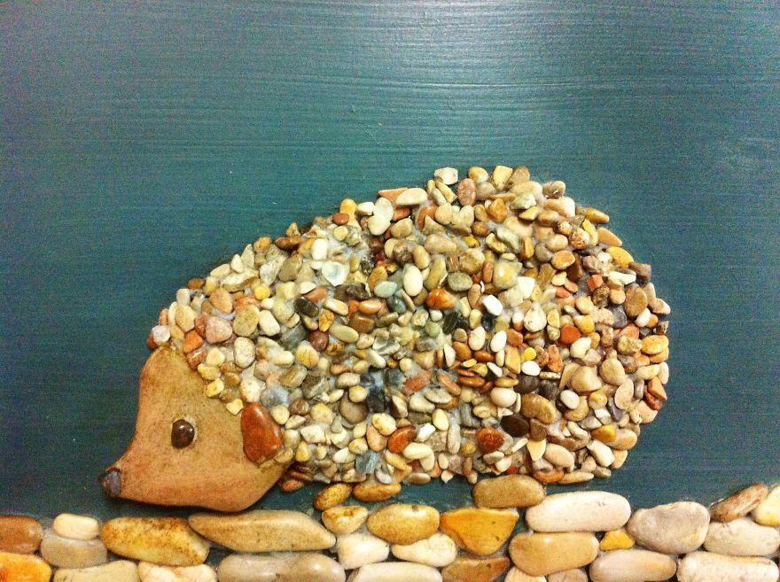Creatii artistice cu pietre - Poza 12