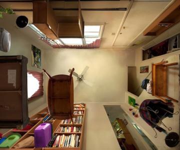 Camere fotografiate de jos in sus de Michael Rohde