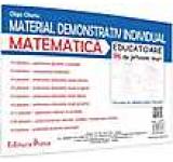 Material demonstrativ individual - matematica - 96 de jetoane mari educatoare