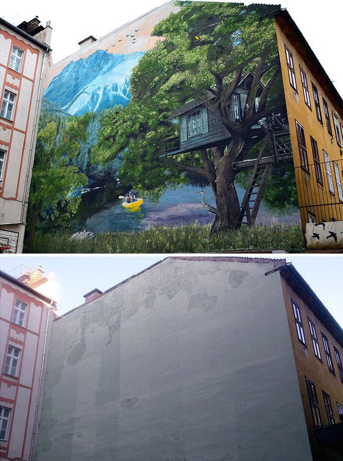 Arta stradala: Cele mai frumoase picturi pe cladiri - Poza 12