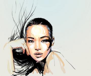 Crochiu burlesc, feminin, senzual de Matthieu Appriou