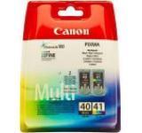 Pachet Canon MultiPack PG-40 + CL-41 (Negru + Color)