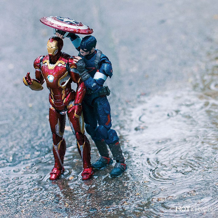Supereroi adusi la viata, in ipostaze haioase - Poza 28