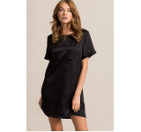 Missguided - Rochie Satin Pocket Shift Dress